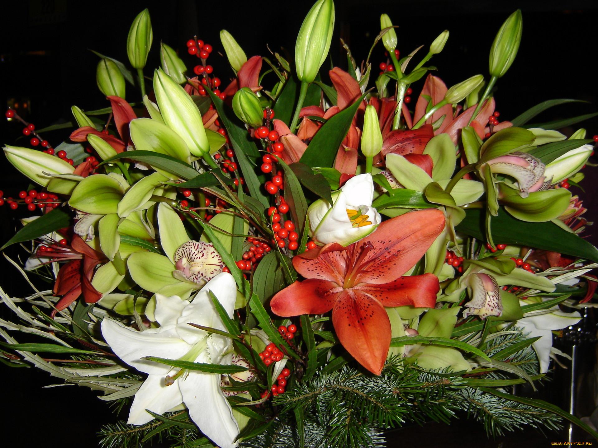 состоит камней цветы лилии огромный букет картинки зависимости сезонности